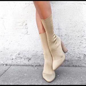 Yeezy Season 2 Kylie Kim Knit Ankle boots heels